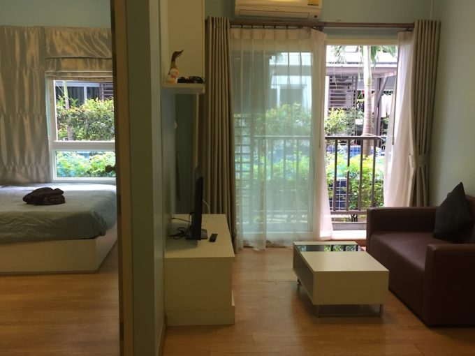 trust residence central pattaya condo rent - 1 bedroom 30 square meters