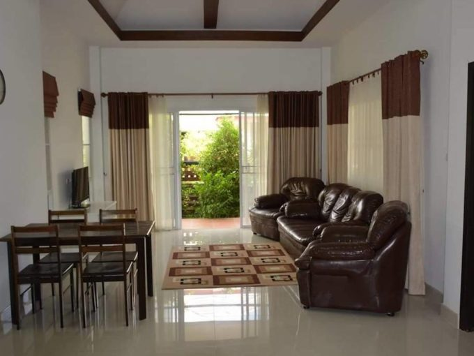 2 bedroom baan dusit pattaya view sale-living room
