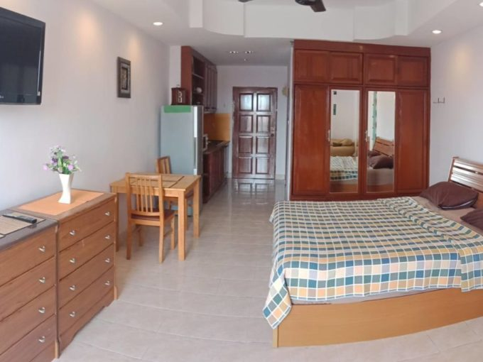 view talay2 pattaya condo for rent-studio 41 Sqm