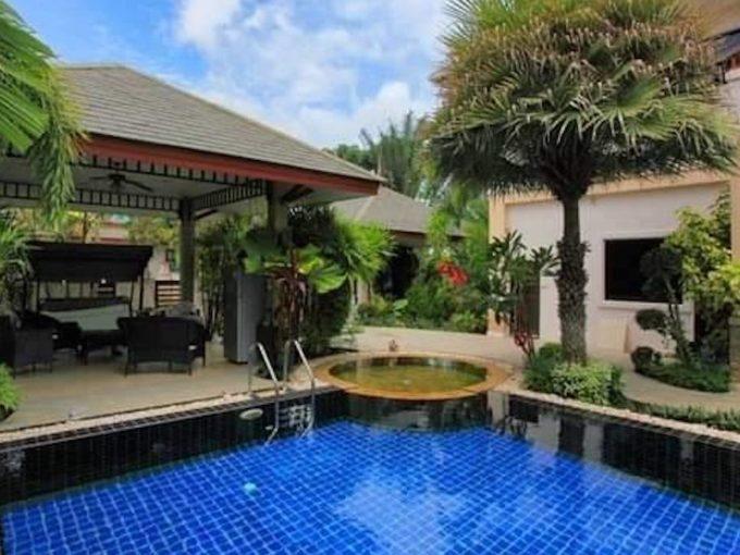 2-story pool villa