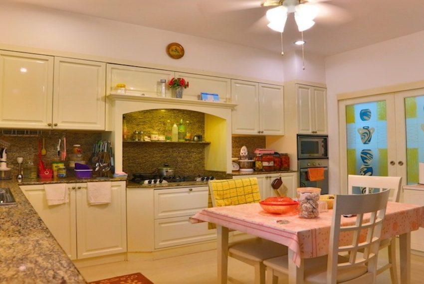 large kitchen
